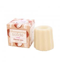 Shampooing solide cheveux secs vanille & coco - 55g - Lamazuna