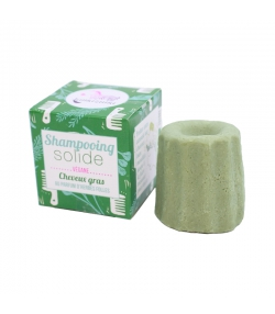 Shampooing solide cheveux gras herbes folles - 55g - Lamazuna