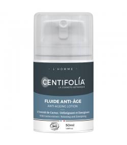 Fluide anti-âge homme BIO cactus - 50ml - Centifolia