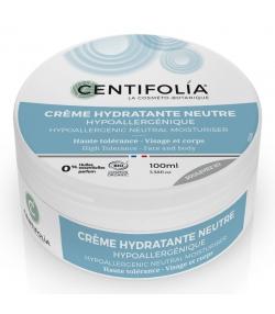 Crème hydratante neutre hypoallergénique BIO aloe vera - 100ml - Centifolia