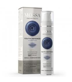 Crème de jour hydratante BIO myrtille - 50ml - Mossa Youth Defence