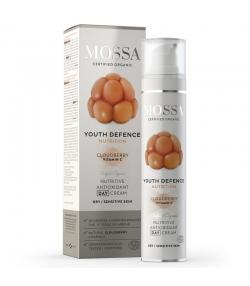 Crème de jour nourrissante BIO plaquebière - 50ml - Mossa Youth Defence