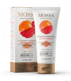 Masque multi-usage & crème de nuit naturel argousier & framboise - 60ml - Mossa Vitamin Cocktail