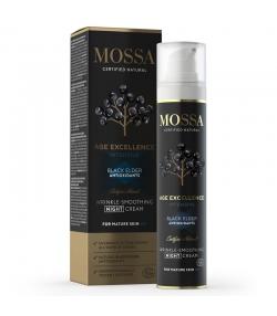 Straffende natürliche Nachtcreme schwarzer Holunder - 50ml - Mossa Age Excellence