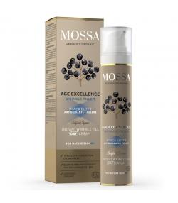 Crème de jour avec comblement instantané des rides BIO sureau noir - 50ml - Mossa Age Excellence
