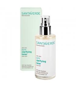 Hautklärendes BIO-Gesichtstonikum ohne Parfum Aloe Vera - 100ml - Santaverde Pure