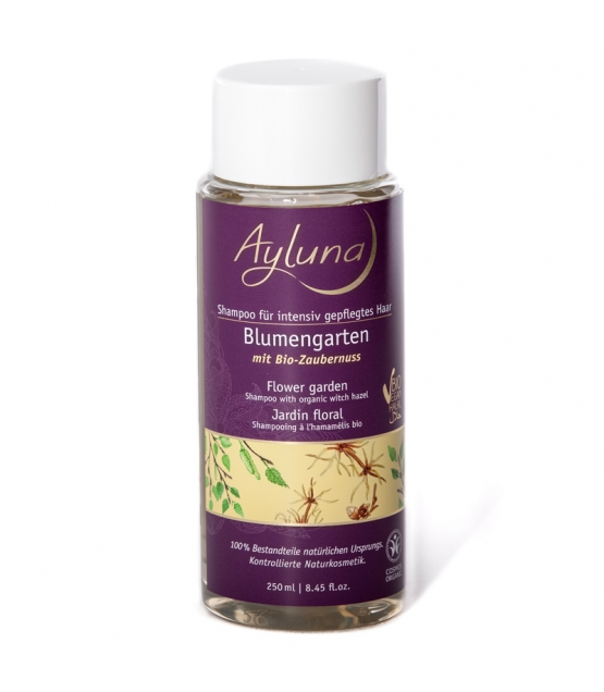 BIO-Shampoo für intensiv gepflegtes Haar Zaubernuss - 250ml - Ayluna