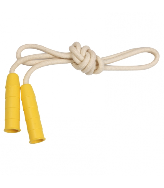 Corde à sauter jaune - 1 pièce - Zébio