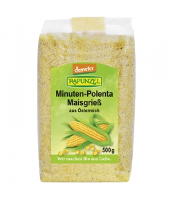 Polenta minute semoule de maïs BIO - 500g - Rapunzel