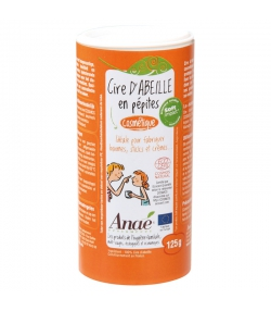 Cire d'abeille cosmétique en pépites naturelle - 125g - Anaé