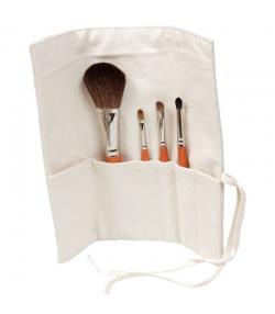 Trousse de maquillage & 4 pinceaux - Anaé