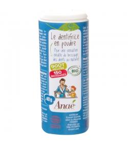 Dentifrice en poudre BIO goût neutre sans fluor - 40g - Anaé