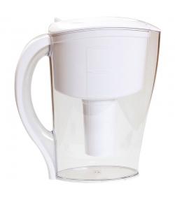 Filtre-pichet eco blanc avec dateur manuel - 2,5l - Hydropure