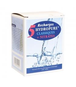 Boîte de 5 recharges universelles classiques + nitrates - 5x125ml - Hydropure