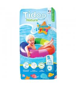 Ökoschwimmwindeln & Bioschwimmwindeln Grösse 5 M 12-18 kg - 1 Paket mit 11 Stück - Tidoo Swim&Play