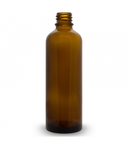 Braunglas 5ml ohne Verschluss - 6 Stück - Farfalla