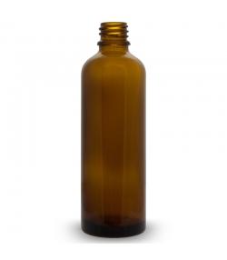 Bouteille en verre brun 75ml sans fermeture - 6 pièces - Farfalla