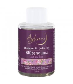 Shampooing éclat floral BIO rose - 50ml - Ayluna
