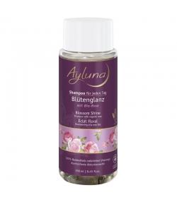 Shampooing éclat floral BIO rose - 250ml - Ayluna