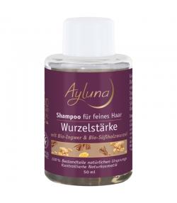 Wurzelstärke BIO-Shampoo Ingwer & Süssholzwurzel - 50ml - Ayluna