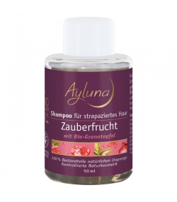BIO-Shampoo für seidiges Haar Granatapfel - 50ml - Ayluna