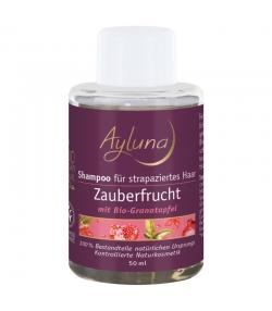 Shampooing pour cheveux soyeux BIO grenade - 50ml - Ayluna