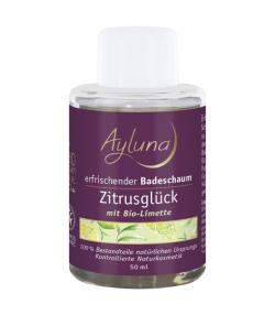 Erfrischender BIO-Badeschaum Zitrus & Limette - 50ml - Ayluna