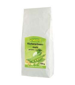BIO-Kichererbsenmehl geröstet - 500g - Rapunzel