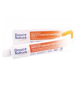 Dentifrice dents & gencives protégées BIO propolis sans fluor - 75ml - Douce Nature
