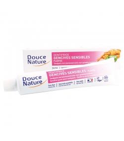 BIO-Zahnpasta für empfindliches Zahnfleisch Pflanzen ohne Fluor - 75ml - Douce Nature