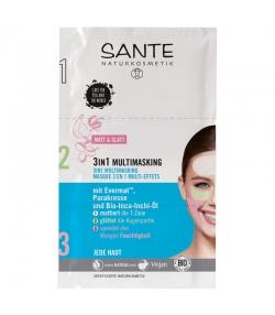 Masque 3 en 1 multi-effets BIO evermat & sacha inchi - 9ml - Sante