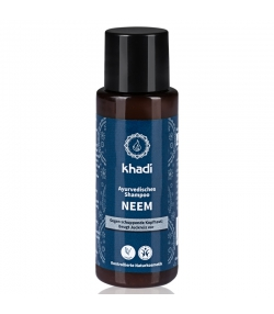 Shampooing anti-pelliculaire ayurvédique BIO neem - 30ml - Khadi