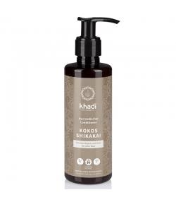 Après-shampooing revitalisant ayurvédique Shikakai BIO noix de coco - 200ml - Khadi