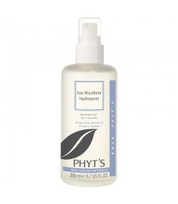 Eau micellaire hydratante BIO acide hyaluronique & hydrolat de rose - 200ml - Phyt's