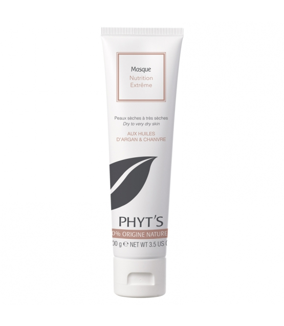 BIO-Gesichtsmaske Nutrition extrême Argan & Hanf - 100g - Phyt's