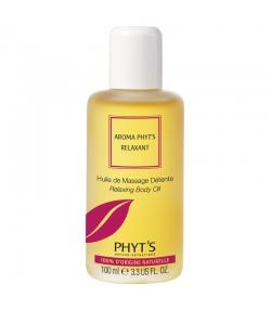 Huile de massage détente Aroma Phyt's Relaxant BIO lavande & germe de blé - 100ml - Phyt's