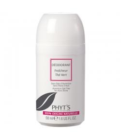 Déodorant à bille fraîcheur BIO thé vert & mauve - 50ml - Phyt's