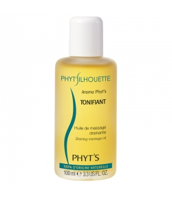 Huile de massage drainante Aroma Phyt's Tonifiant BIO citron & sauge - 100ml - Phyt's
