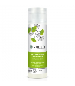 Lotion tonique hydratante BIO ginkgo biloba - 200ml - Centifolia