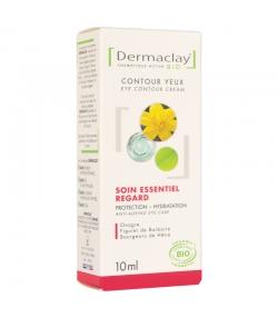 Crème contour des yeux soin essentiel regard BIO onagre & hêtre - 10ml - Dermaclay