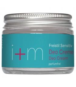 Déodorant crème sans parfum BIO - 30ml - i+m Naturkosmetik Berlin Freistil Sensitiv