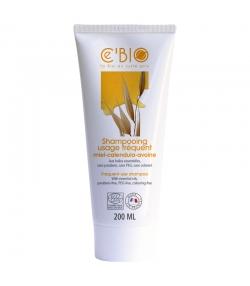 Shampooing usage fréquent BIO miel, calendula & avoine - 200ml - Ce'BIO