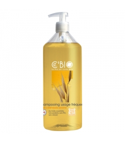 Shampooing usage fréquent BIO miel, calendula & avoine - 500ml - Ce'BIO