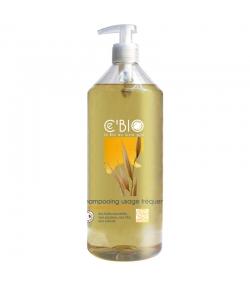 BIO-Shampoo für häufige Haarwäsche Honig, Ringelblume & Hafer - 1l - Ce'BIO