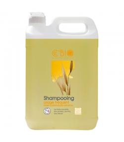 BIO-Shampoo für häufige Haarwäsche Honig, Ringelblume & Hafer - 5l - Ce'BIO