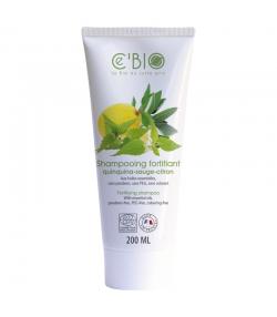 Shampooing fortifiant BIO quinquina, sauge & citron - 200ml - Ce'BIO