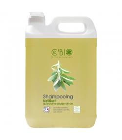 Shampooing fortifiant BIO quinquina, sauge & citron - 5l - Ce'BIO