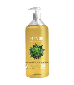 BIO-Shampoo trockenes Haar Shea Butter, Jojoba & Aloe - 500ml - Ce'BIO