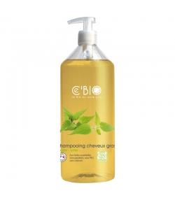 Shampooing cheveux gras BIO argile & ortie - 500ml - Ce'BIO