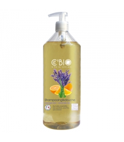 BIO-Shampoo & Duschgel Orange & Lavendel - 1l - Ce'BIO